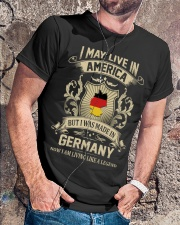 Live In America - Made In Germany Classic T-Shirt lifestyle-mens-crewneck-front-4