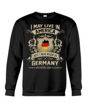 Live In America - Made In Germany Crewneck Sweatshirt thumbnail
