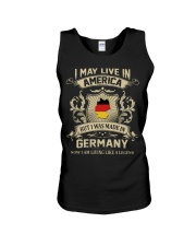 Live In America - Made In Germany Unisex Tank thumbnail