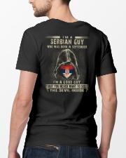 SERBIAN GUY - 09 Classic T-Shirt lifestyle-mens-crewneck-back-5
