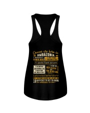 Queens Ambazonia Ladies Flowy Tank thumbnail
