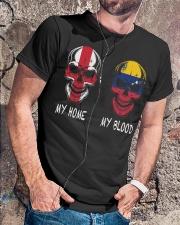 My Home England - Venezuela Classic T-Shirt lifestyle-mens-crewneck-front-4