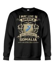 Live In America - Made In Somalia Crewneck Sweatshirt thumbnail
