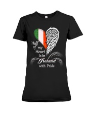 Heart - Pride Ireland Premium Fit Ladies Tee thumbnail