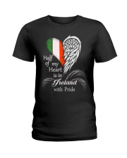 Heart - Pride Ireland Ladies T-Shirt thumbnail