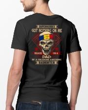Dad - Romania Classic T-Shirt lifestyle-mens-crewneck-back-5