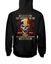 Dad - Romania Hooded Sweatshirt thumbnail