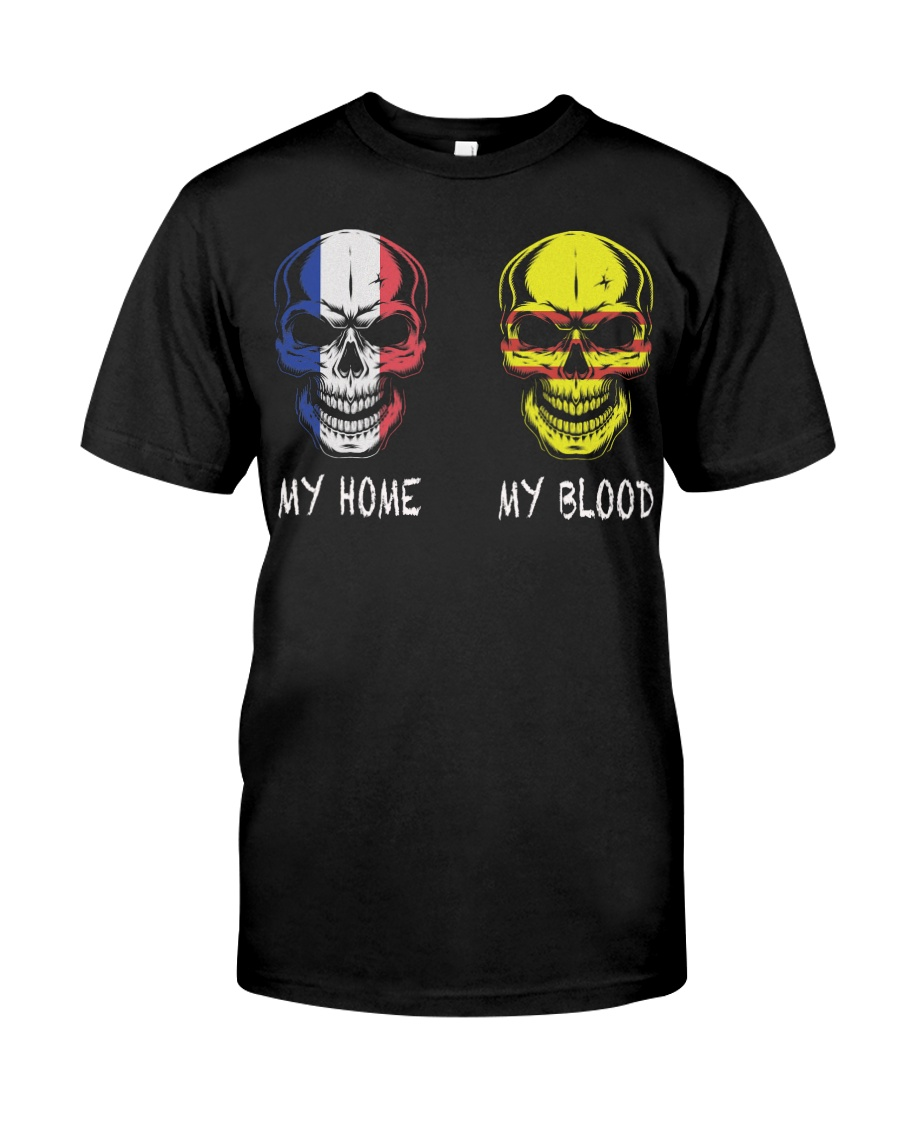 My Home France - Vietnam Classic T-Shirt