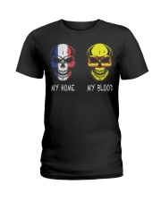 My Home France - Vietnam Ladies T-Shirt thumbnail