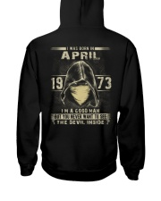 GOOD GUY 73-4 Hooded Sweatshirt back