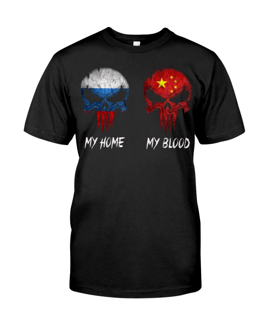 Home Russia - Blood China Classic T-Shirt