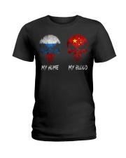 Home Russia - Blood China Ladies T-Shirt thumbnail
