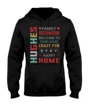 HUGHES Hooded Sweatshirt front