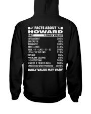 HOWARD Hooded Sweatshirt back