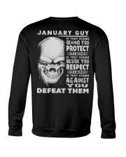 DEFEAT - 01 Crewneck Sweatshirt thumbnail