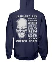 DEFEAT - 01 Hooded Sweatshirt back