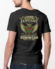LEGENDS DOMINICAN - 01 Classic T-Shirt lifestyle-mens-crewneck-back-5