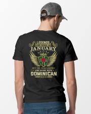 LEGENDS DOMINICAN - 01 Classic T-Shirt lifestyle-mens-crewneck-back-6