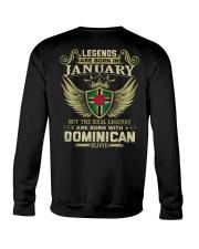 LEGENDS DOMINICAN - 01 Crewneck Sweatshirt thumbnail