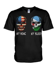 My Blood - Djibouti V-Neck T-Shirt thumbnail