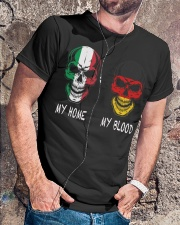 My Home Italy - Germany Classic T-Shirt lifestyle-mens-crewneck-front-4