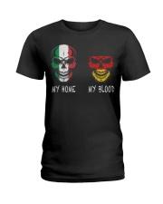 My Home Italy - Germany Ladies T-Shirt thumbnail