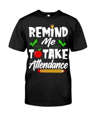 Remind Me To Take Attendance