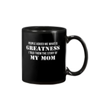 Greatness - The Story Of My Mom Mug thumbnail