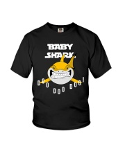 Baby Shark T-Shirt For Kids Who Love Sharks Youth T-Shirt thumbnail