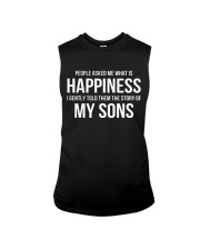 People Asked Me What Is Happiness T-Shirt - Hoodie Sleeveless Tee thumbnail
