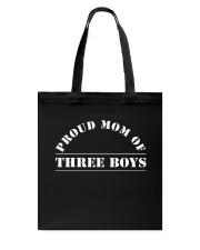 Happiness Of A Mom Of Three Boys T-Shirt Hoodie Tote Bag thumbnail