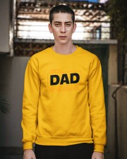 best dad in the galaxy shirt fathers day gift Crewneck Sweatshirt apparel-crewneck-sweatshirt-lifestyle-02
