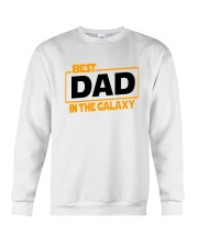 best dad in the galaxy shirt fathers day gift Crewneck Sweatshirt thumbnail