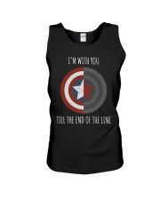 I'M WITH YOU TILL THE END OF THE LINE Unisex Tank thumbnail