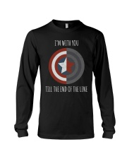 I'M WITH YOU TILL THE END OF THE LINE Long Sleeve Tee thumbnail