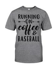 COFFEE BASEBALL Classic T-Shirt front