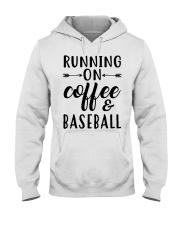 COFFEE BASEBALL Hooded Sweatshirt thumbnail
