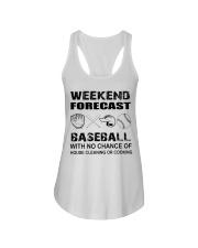 baseball Ladies Flowy Tank thumbnail