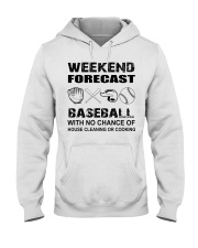 baseball Hooded Sweatshirt thumbnail