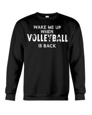 wake me up when volleyball is back Crewneck Sweatshirt thumbnail