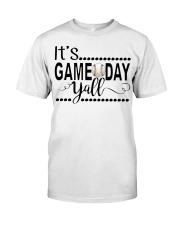 baseball it's gameday yall Classic T-Shirt tile