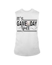 baseball it's gameday yall Sleeveless Tee thumbnail