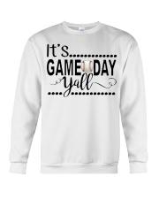 baseball it's gameday yall Crewneck Sweatshirt thumbnail