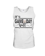 baseball it's gameday yall Unisex Tank thumbnail