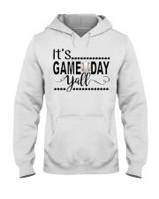 baseball it's gameday yall Hooded Sweatshirt thumbnail