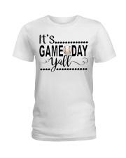 baseball it's gameday yall Ladies T-Shirt thumbnail
