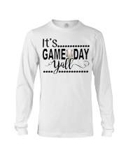 baseball it's gameday yall Long Sleeve Tee thumbnail