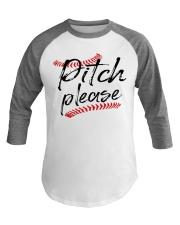 baseball pitch please Baseball Tee thumbnail