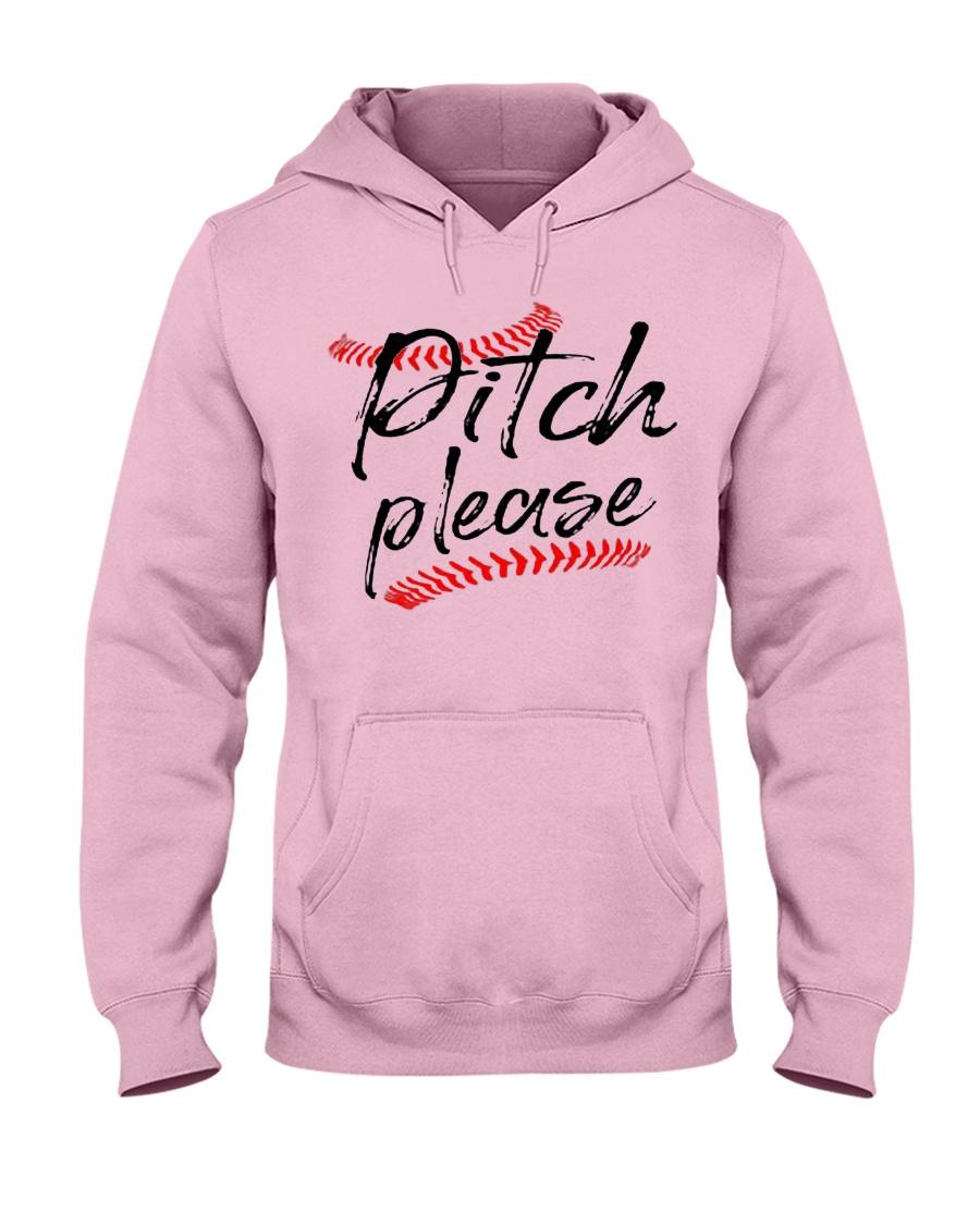 baseball pitch please Hooded Sweatshirt