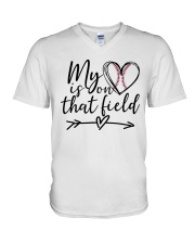 baseball shirts V-Neck T-Shirt thumbnail
